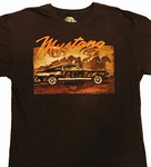 Classic Mustang Fastback Brown T-Shirt