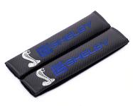 Seat Belt Shoulder Pads - Shelby Snake Logo