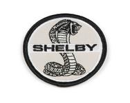 "Patch - Shelby Cobra Black & White 2.5"""