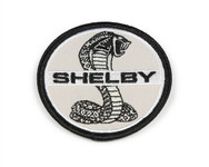 Patch - Shelby Cobra Black & White 2.5""