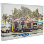 Ford Dream Garage Canvas Sign