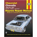 Haynes Repair Manual - Chevrolet Chevelle 1969 - 1987