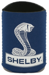 Koozie - Shelby Snake Logo Navy Magnetic