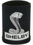 Koozie - Shelby Snake Logo Black Magnetic