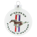 Ford Mustang Tri-Bar Logo Ornament