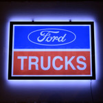 "Ford Trucks 20"" Slim Line LED Sign"