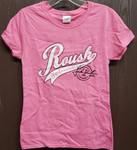 Jack Roush Stamp Ladies T-Shirt - Pink