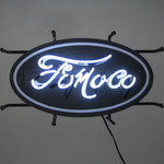 Neon Sign - Ford FoMoCo Junior With Backing 22""