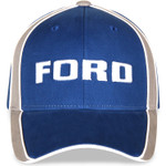 Ford Hat - Blue Block Text Logo