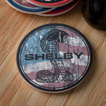 Drink Coaster - Patriotic Shelby Snake