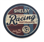 Car Coaster - Shelby Legendary Racing Cupholder Insert