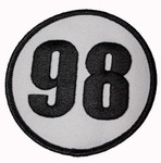 Patch - Shelby 98 Circle 3""