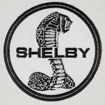 "Patch - Shelby Snake Tiffany Logo on White 3"""
