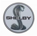 """Magnet - Chrome Shelby Snake 3.5"""""""