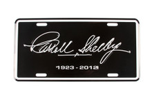 License Plate - Carroll Shelby Tribute 1923-2012