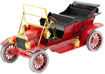 Metal Earth - 1908 Ford Model T 3D Model Kit Red/Gold
