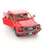 Metal Earth - 1965 Mustang Coupe 3D Model Kit in Red