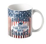 Mug - Shelby American Stars, Stripes & Snakes 11oz