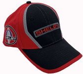 Shelby Logos & Signature Red & Black Hat