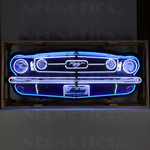 Classic Mustang Grill Neon Sign - HUGE * 5 Ft Wide