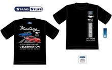 Ladies (Black) 50th Anniversary Celebration T Shirt
