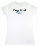 """""""Pure Bred"""" Mustang Ladies T-Shirt"""