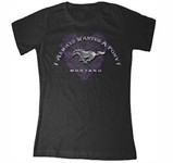 """I Always Wanted A Pony"" (Heart) Black Tee 2XL"