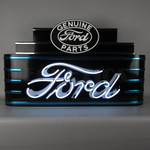 Ford Neon Art Deco Theater Marquee Sign