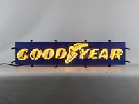 Neon Sign - GoodYear Tires Logo Junior Sign