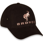 Ford Bronco Logo Brown Canvas Hat