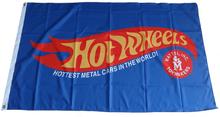 Flag - Hot Wheels Logo 3' x 5'