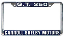 License Plate Frame - Shelby GT350