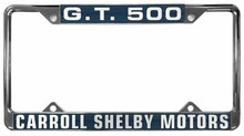 License Plate Frame - Shelby GT500