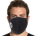Shelby Mesh Lining Face Mask - Black