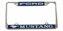 License Plate Frame - FORD MUSTANG