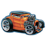 Hot Rod Ford '32 Coupe Embossed Tin Magnet