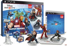 LOT of 5! Disney INFINITY: Marvel Super Heroes (2.0 Edition) Video Game Starter Pack - PS3
