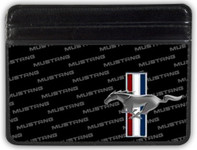 Weekend Wallet - Mustang Tri-Bar Logo w/ Text