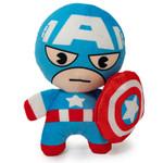 Dog Squeaky Toy - Kawaii Captain America Marvel
