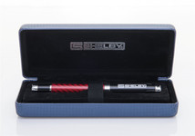 Genuine Carbon Fiber SHELBY Pen with Box - Red