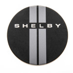 Car Coaster - Shelby Racing Stripes Cupholder Insert