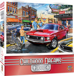 Puzzle - Dave's Diner - 1000 Piece Mustang Jigsaw Puzzle