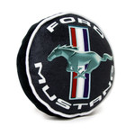 Dog Squeaky Toy - Ford Mustang Logos