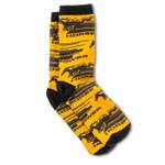Socks - Mustang Horsepower * Yellow