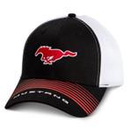 Mustang Running Horse Red / Black / White Hat