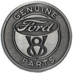Knob Pull - Ford V8 Genuine Parts Embossed Metal
