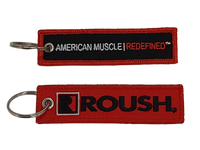 Key Chain - Roush Embroidered Tag