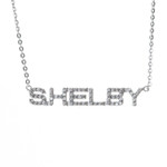 Necklace - Shelby Sterling Silver with Sapphires