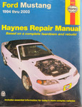Haynes Repair Manual Mustang 1994-2003