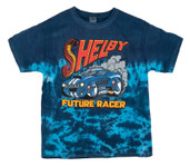 Shelby Future Racer Youth Blue Tie-Dye T-Shirt